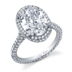 Oval Neil Lane Ring-- I would want round
