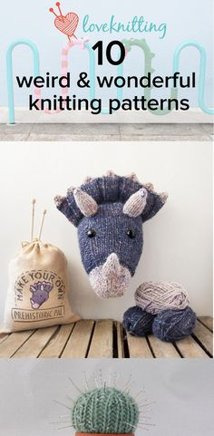 10 weird and wonderful knitting patterns - LoveKnitting