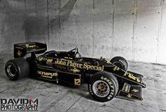 —— Lotus 97T  ——- Ayrton Senna ———  ———   Legend —