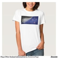 Flag of New Zealand (alternative) T Shirts
