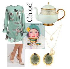 """""""Tea party ☕️"""" by venter-alicia on Polyvore featuring Chloé, Charlotte Russe and Prouna"""