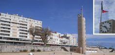 O Palhetas na Foz: Bandeira Portuguesa rota na Torre do Relógio!