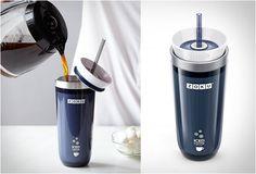 ZOKU ICED COFFEE MAKER - http://www.gadgets-magazine.com/zoku-iced-coffee-maker/