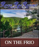 love this place!!!!!  River Rim Resort on the Frio River  Concan, TX