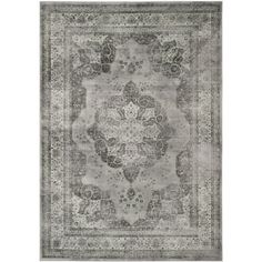 Safavieh Courtyard Vintage Grey Indoor/Outdoor Rug