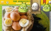« Bad Piggies' Best Egg Recipes », a Rovio's interactive cookbook