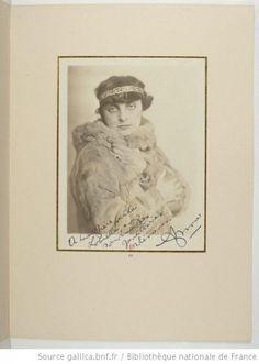 Portrait of Anna de Noailles, 1920. Bibliothèque nationale de France