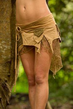 Pixie Pocket Skirt Masala Fairy Elf Sexy Hippie by AryaClothing Goa Festival, Festival Skirts, Festival Tops, Festival Outfits, Festival Clothing, Hippie Boho, Bohemian Skirt, Gypsy Skirt, Hippie Style