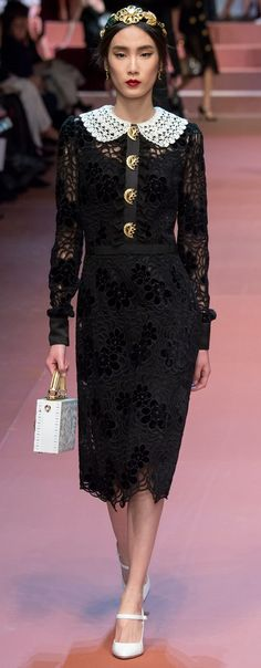 Dolce & Gabbana Fall 2015 Ready To Wear Collection
