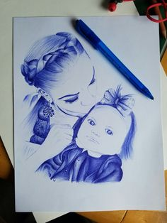 Mom and daughter. Sketch, Daughter, Mom, Female, Sketch Drawing, Sketching, My Daughter, Daughters, Sketches