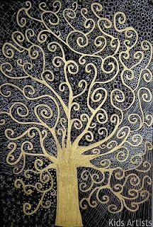 lov it - Gustav Klimt inspiration