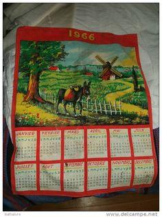 J'adorais ces calendriers!