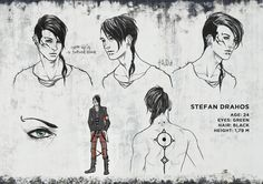 Stefan Drahos Character Design, by =AudreyDutroux