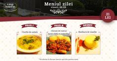 Restaurant Casa Iosefin Timisoara: Meniu Zilei 22.09