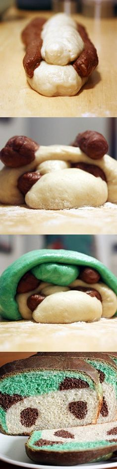 Panda Bread- Part of me tihnks this is ridiculous..part of me thinks I couldn't eat a panda