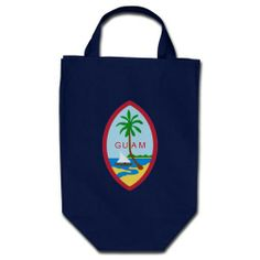 GUAM-COAT OF ARMS TOTE BAGS