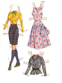 Doris Day - paper doll* The International Paper Doll Society by Arielle Gabriel for all paper doll and paper toy lovers. Mattel, DIsney, Betsy McCall, etc. Join me at #ArtrA, #QuanYin5 Linked In QuanYin5 YouTube QuanYin5!