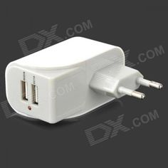 #Dual usb ports ac power adapter for  ad Euro 3.99 in #Cableschargers #Cell phones accessories