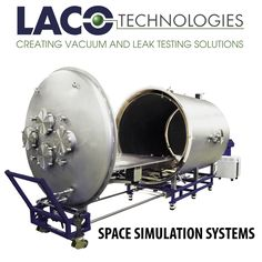 #VACUUM #TECHNOLOGY SOLUTIONS - #SPACE SIMULATION SYSTEMS: Vacuum systems can be used to replicate or simulate the extreme conditions of space. This simulation allows testing and validation of components and subassemblies for a variety of industries. A space simulation system replicates both pressure and temperature environments using high vacuum pumps along with thermal platens and shrouds.