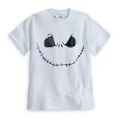 Jack Skellington Tee for Adults - White