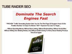 Tube Raider SEO Method Step By Step Guide