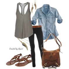 I LOVE this laid back style!(:
