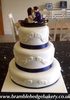 Gondola Wedding Cake