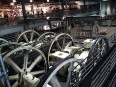 The Cable Car Barn & Powerhouse,SF  This museum makes you feel like a tourist in your own town, with an elevated viewing area to see the wi...
