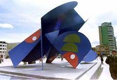 Edgar Negret Escultura  San victorino-  Bogotá