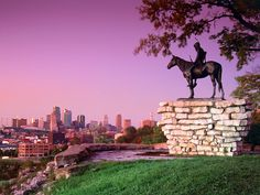 The Scout Statue - KCMO