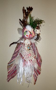Spirit Doll Brigit the Dancing Witch of by JoyfulEssence on Etsy  by Lili McGovern