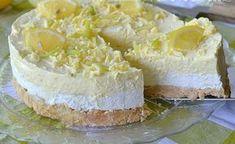 Osviežujúci citrónový cheesecake s bielou čokoládou