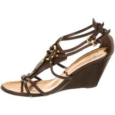 Pre-owned Giuseppe Zanotti Wedges (160 CAD) ❤ liked on Polyvore