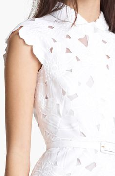 Valentino Floral Piqué Dress | Nordstrom