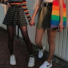 Gay Aesthetic, Couple Aesthetic, Girlfriend Goals, Cute Lesbian Couples, Photo Couple, Girls In Love, Cute Outfits, Photos, Clothes