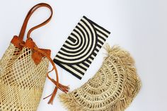 Curated from the Far East, Suresté's bags and jewelry combine contemporary styles with artisanal craftsmanship using only natural materials indigenous to Southeast Asia. Natural Materials, Southeast Asia, Contemporary Style, Biodegradable Products, Rattan, Hand Sewing, Straw Bag, Bucket Bag, Bamboo