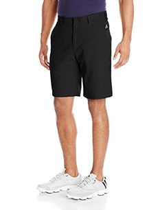 adidas Golf Men's Puremotion Stretch 3 Stripes Shorts Flat front with constructed belt loops brand mark above back right pocket Engineered with Golf Attire, Golf Outfit, Striped Shorts, Patterned Shorts, Adidas Golf, Country Shirts, Golf Fashion, Men Fashion, Play Golf