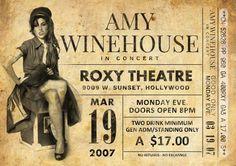 Original Amy Winehouse Print: Vivo en el teatro ROXY, 2007. Se trata de un original diseño inspirado en las clásicas actuaciones de artistas legendarios. Este llamativo cartel estilo vintage grabado sería un gran regalo para cualquier fan de Amy Winehouse. Celebra el funcionamiento legendario de 2007 de cantantes en el teatro ROXY de la. Todas nuestras impresiones se producen los más altos estándares utilizando el mejor papel de arte fino de trapo de algodón 220gsm. El papel blanco…