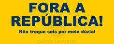 FORA DILMA! FORA TEMER! FORA REPÚBLICA!  #ImpeachmentDarepublica #Impeachment