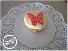 Baunilha Cor-de-Rosa: #Cupcake #butterfly