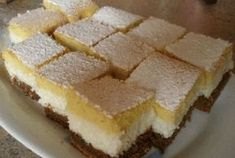 Holnap ismét megsütöm a kókuszkrémes csodát! Hungarian Desserts, Hungarian Recipes, My Recipes, Cookie Recipes, Dessert Recipes, Cake Bars, Cake Cookies, Cakes And More, Food And Drink