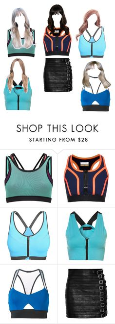 """Untitled #3633"" by aurorazoejadefleurbiancasarah ❤ liked on Polyvore featuring Sweaty Betty, Monreal, Michi and Gucci"