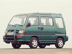 Subaru Libero (1989 -1997). - Keijidosha - Kei Car