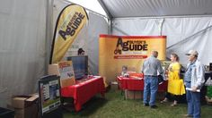 Ag Buyer's Guide Booth at today's Outdoor Farm Show in Woodstock Farm Show, Kubota, Buyers Guide, Woodstock, Tractors, Outdoor, Outdoors, Tractor, The Great Outdoors