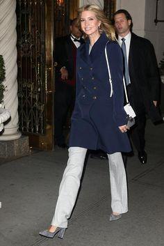 Ivanka Trump Leaving Her Apartment November 20 2016