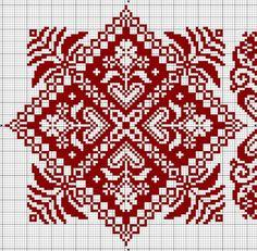 Embroidery designs free christmas ideas for 2019 Biscornu Cross Stitch, Cross Stitch Borders, Cross Stitch Charts, Cross Stitch Designs, Cross Stitching, Cross Stitch Patterns, Blackwork Embroidery, Cross Stitch Embroidery, Embroidery Patterns