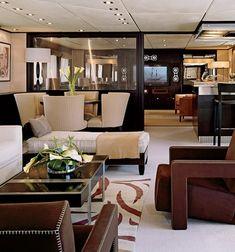 illusion2 yacht interior
