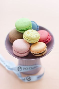 Although I find French macarons to be disgustingly, sickly sweet, they are very beautiful dainty pastries.