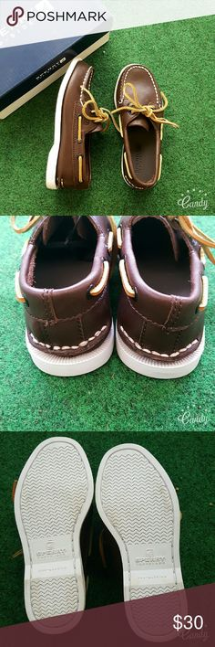 Sperry Top-Sider Loafers Boys Sperry Top-Sider Leather Loafers   Toddler Boys sz 10.5 Chocolate Brown  NEW in Box  (Have only been tried on at store) Sperry Top-Sider Shoes