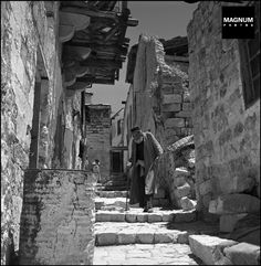 ISRAEL. 1948. Old town of Safed//Robert Capa